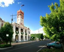 Toowoomba city centre